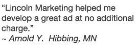 Lincoln Marketing testimonial #2
