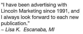 Lincoln Marketing testimonial #4