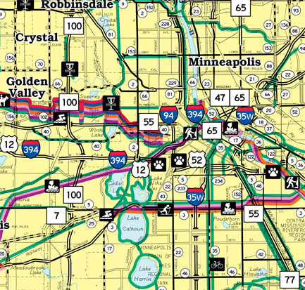 click map to download pdf hennepin county