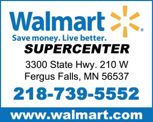 Lincoln marketing traverse county mn for Can you buy a fishing license at walmart