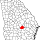 200px-Map_of_Georgia_highlighting_Telfair_County